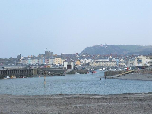 Aberystwyth from Tan-y-Bwlch