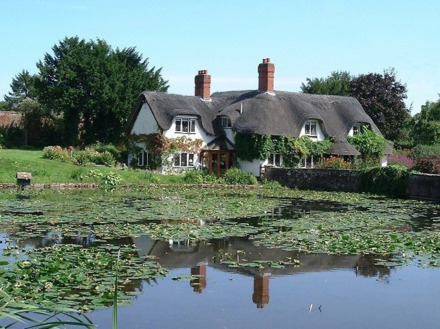 Badger Pond & House