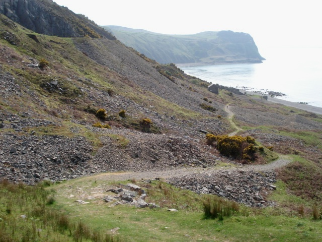 Path At Porth Y Nant 169 Trevor Rickard Geograph Britain
