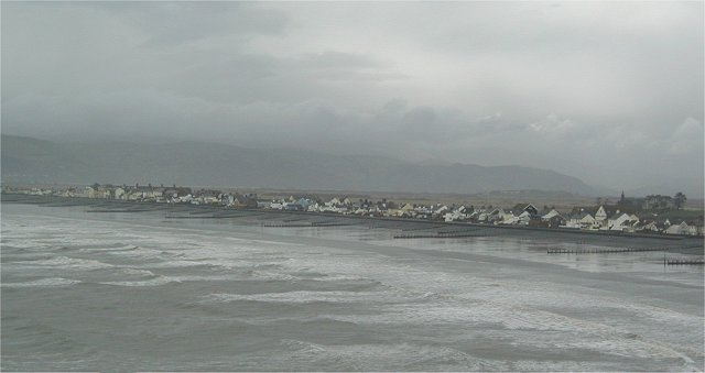 Borth on an (almost) typical Summer's Day!