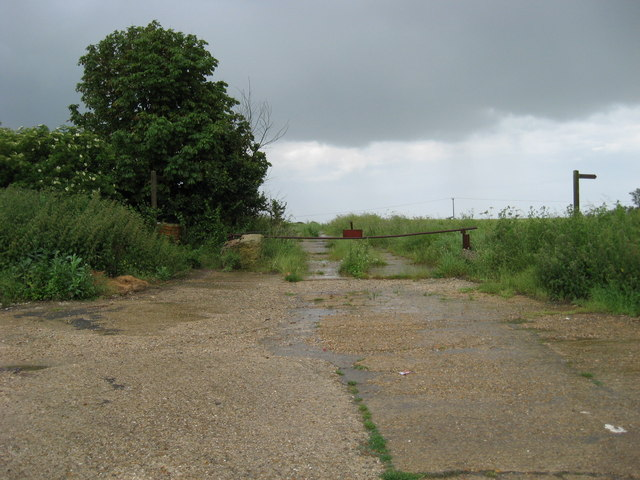 Trackway on the site of RAF Kimbolton