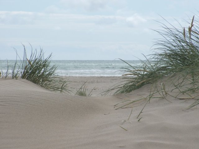 Sandunes on Barmouth beach