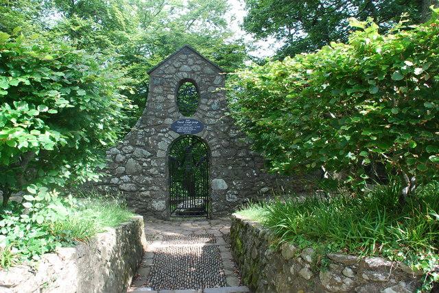 Bedd David Lloyd George Llanystumdwy David Lloyd George's Grave