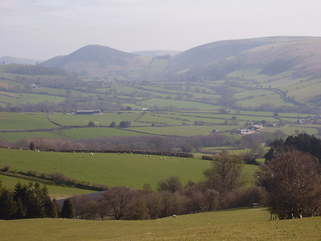 View to the east of Carreg Gwyn