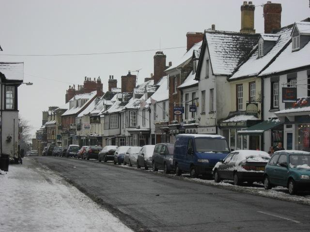 The High Street, Highworth, Wiltshire