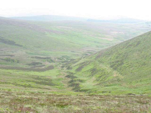 The Blaen Trawsnant valley