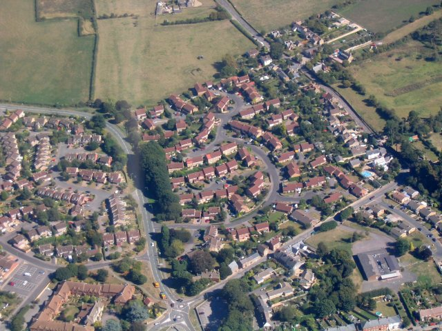 Highworth from the Air