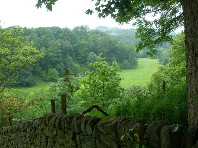 View along the Dane Valley.