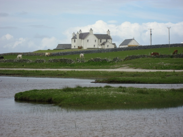 House by Ardnave Loch