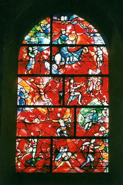 Chagall window in Chichester Cathedral