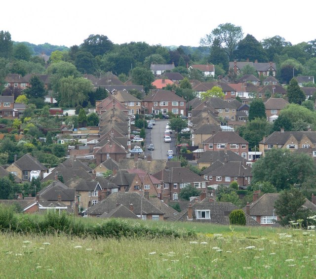 A view from Covert Lane, Scraptoft