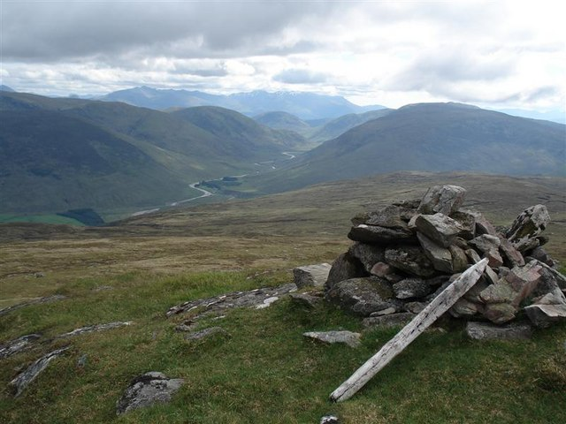 Summit of Carn Dearg