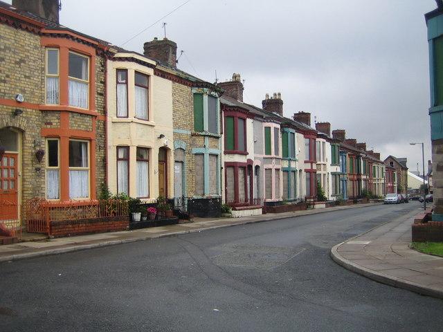 Liverpool: Plimsoll Street, Edge Hill, © Nigel Cox cc