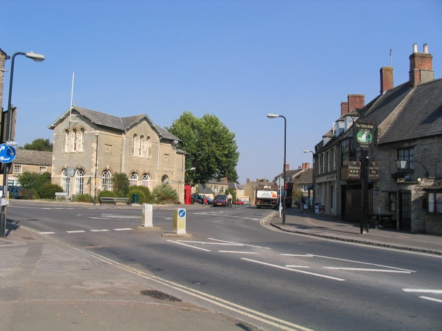 The Centre of Bampton