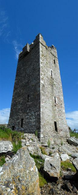 Carrick Kildavnet Castle