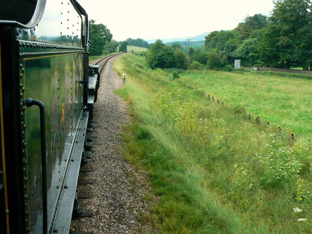 Aboard the 16.10 from Bishops Lydeard, heading north