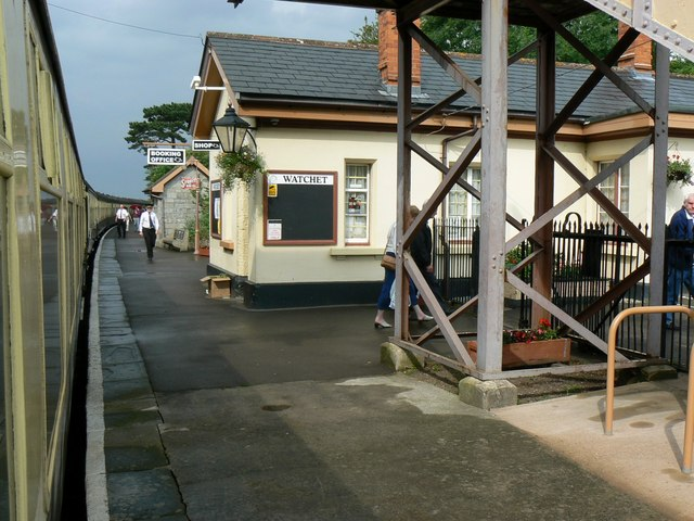Watchet WSR station, Watchet