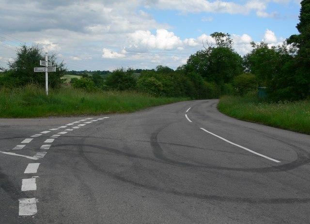 Beeby Road, Keyham Lane junction