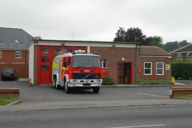 Waddesdon fire station