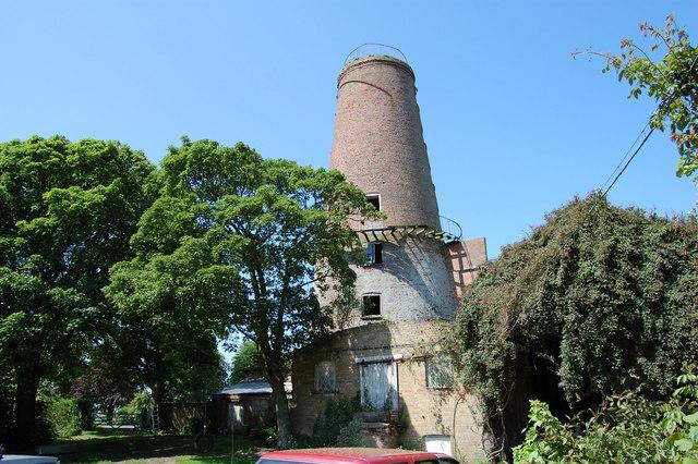 Ingleborough tower mill, West Walton, Norfolk