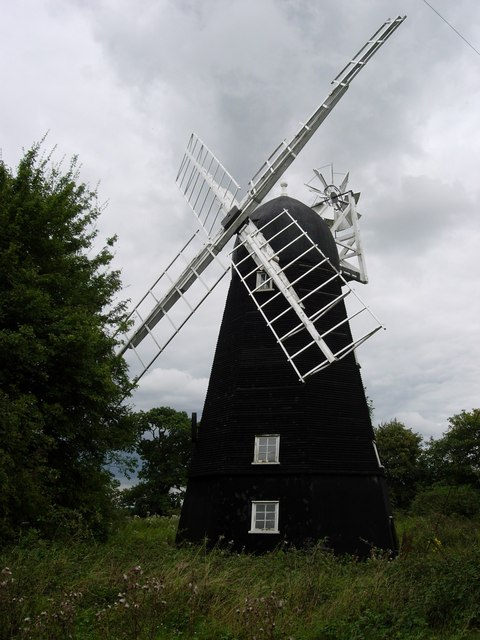 Great Thurlow smock mill, Suffolk