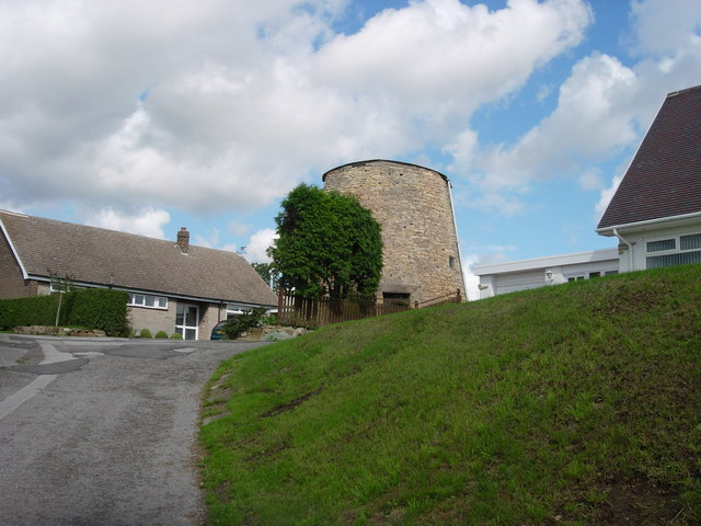 Upton tower mill, West Yorkshire