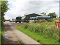 SP9743 : Roxhill Manor Farmyard by David Hawgood
