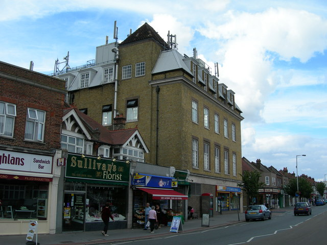 Addiscombe Telephone Exchange and Shops