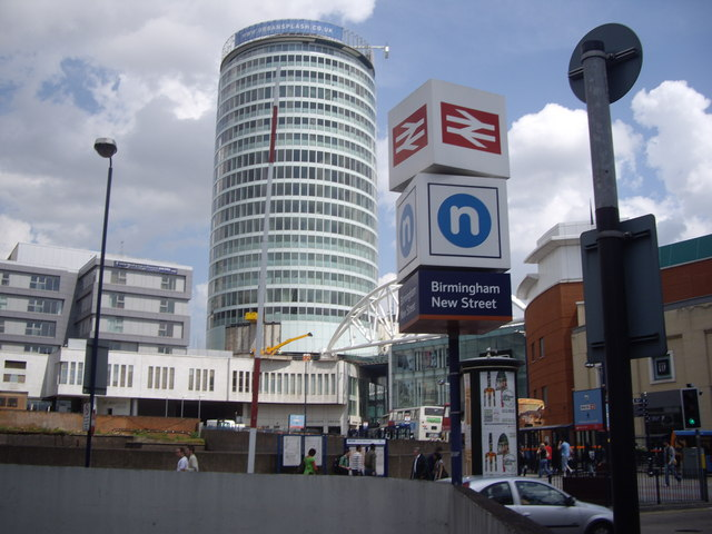 New Street Panorama, Birmingham