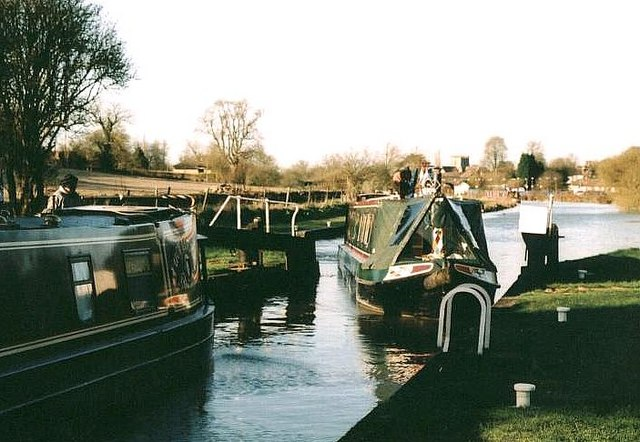 Burnt Mill Lock - No.65 - Great Bedwyn - 2004