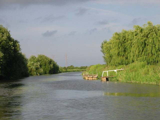 View downstream along the Stour