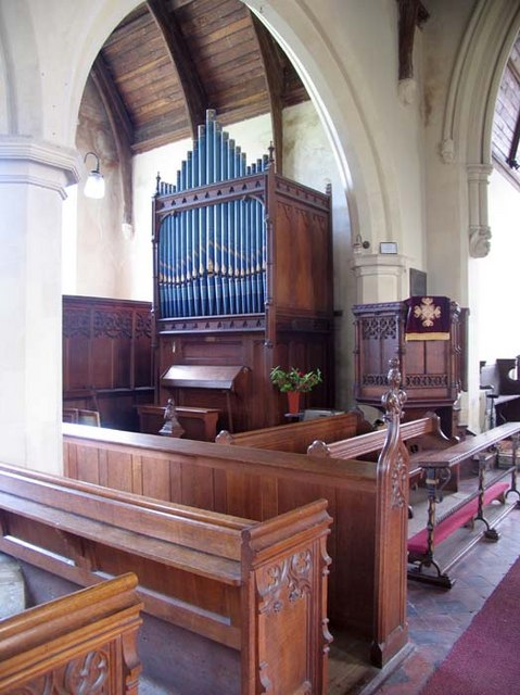 St Peter, Haveringland, Norfolk - Organ
