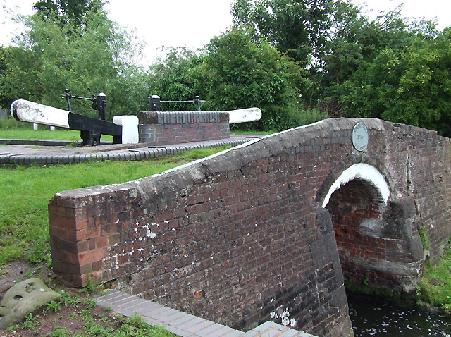 Wightwick Bridge, No. 57, Staffordshire and Worcestershire Canal