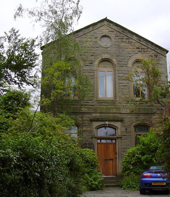 Trawden Literary Institute AD1880
