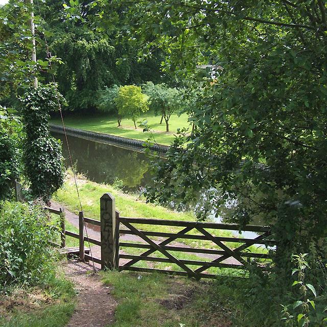 Canal Access Point, Windmill Lane, Wightwick, near Wolverhampton