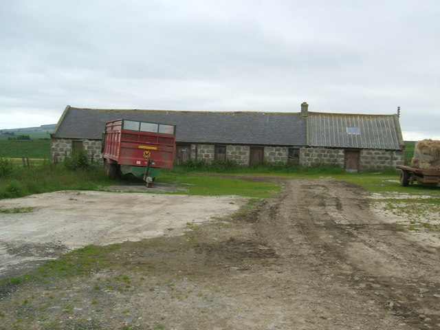 Disused Farmyard at Whitehill