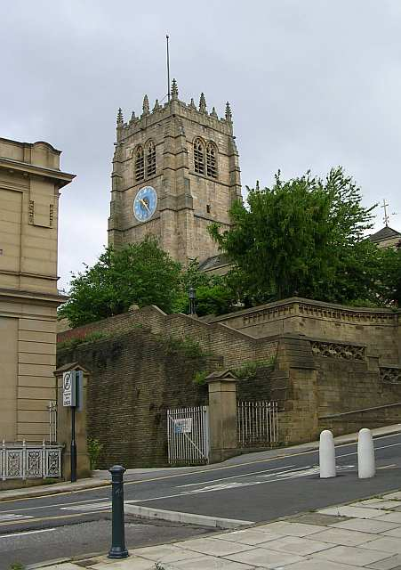 Bradford Cathedral - Church Bank