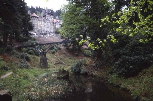 Cragside from the Debdon Burn