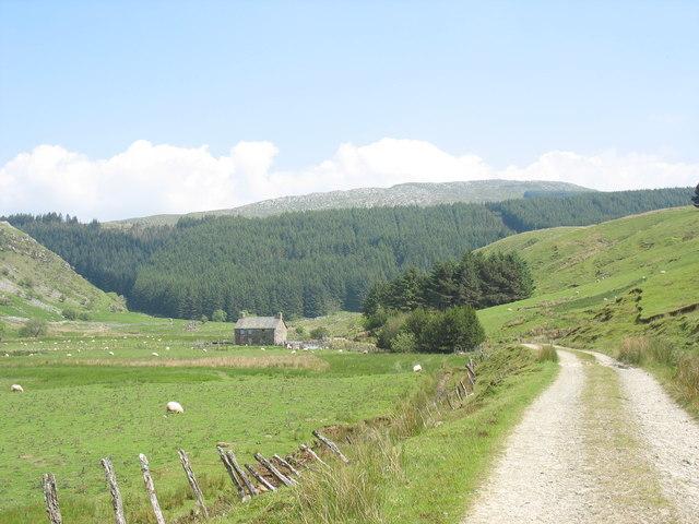 First view of Dol-cyn-afon farmhouse