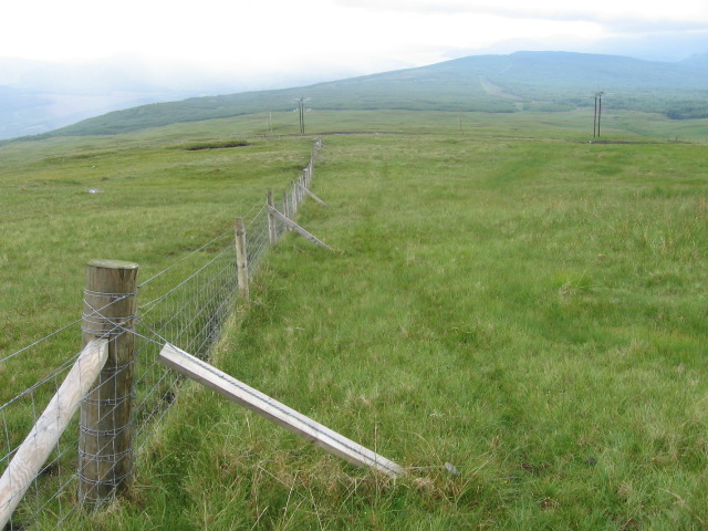 Below Clachan Hill
