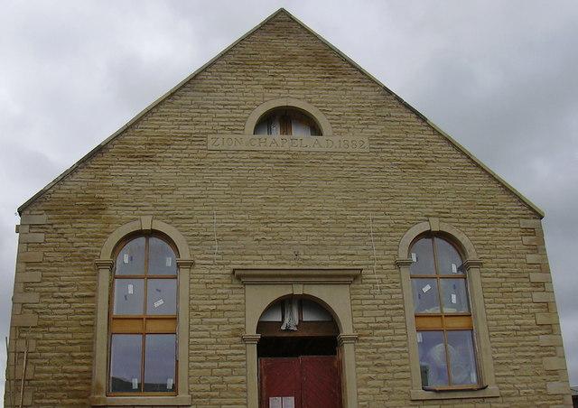 Zion Chapel AD1880 Trawden