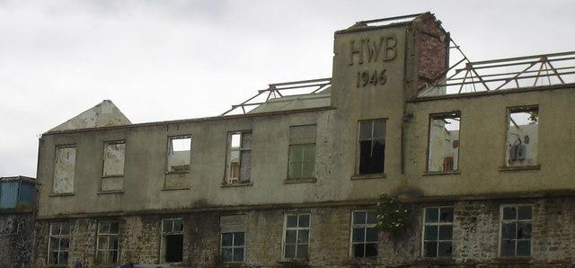 Mill demolition.