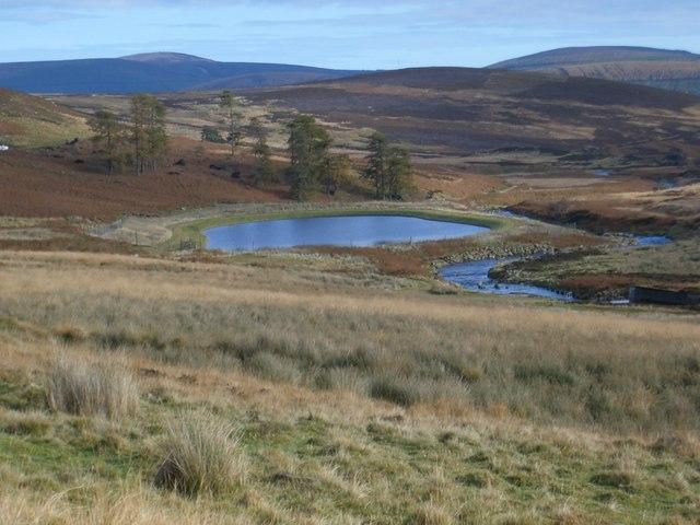 Glen Dye and reservoir
