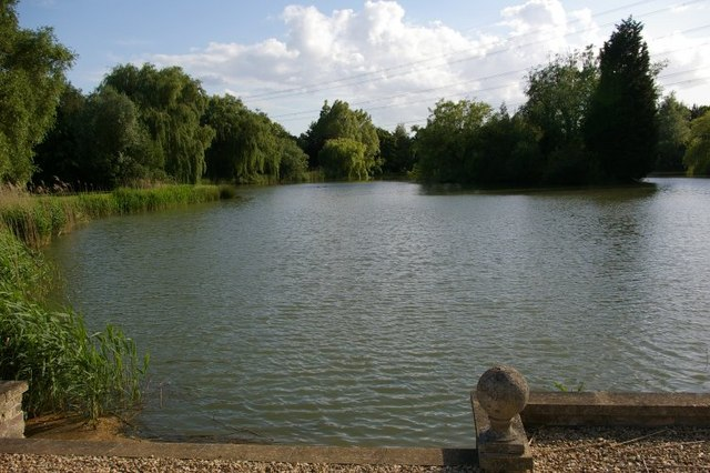 Lake at Barcham Farm