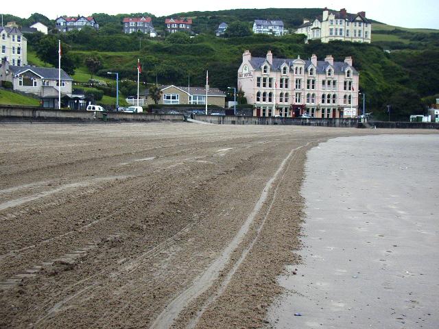 Port Erin beach, and Bay Hotel