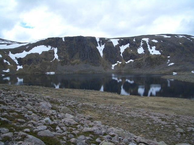 Loch Etchachan & Carn Etchachan