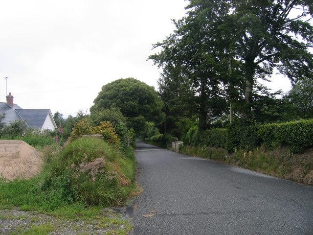 B4342 i Langeitho / B4342 to Llangeitho