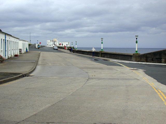 Port Erin, promenade