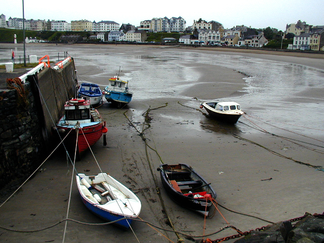 Port Erin Bay and harbour