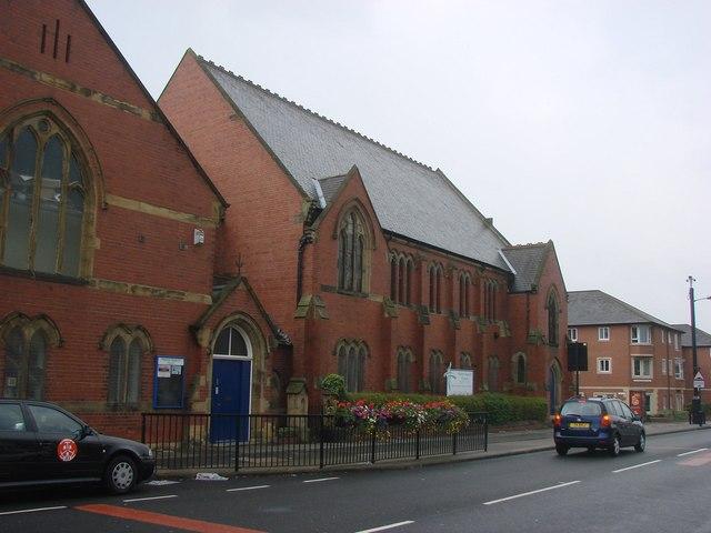 Heaton Baptist  Church, Heaton Road.